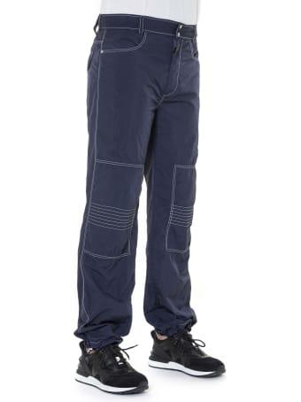 Mr & Mrs Italy Light Crepe Nylon Urban Pants For Man