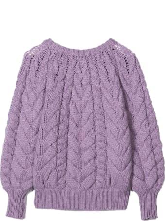 Brunello Cucinelli Raglan Sleeve Cable-knit Sweater