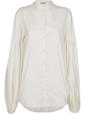 Jil Sander White Cotton Shirt