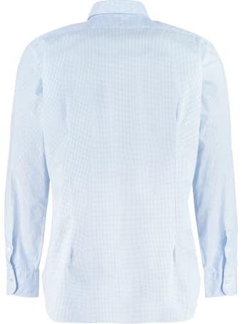 Barba Napoli Stretch Cotton Shirt