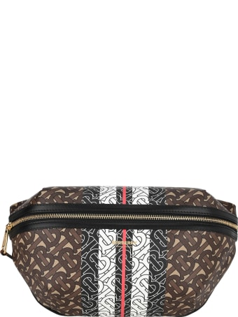 Burberry London Monogram Stripe E-canvas Bum Bag