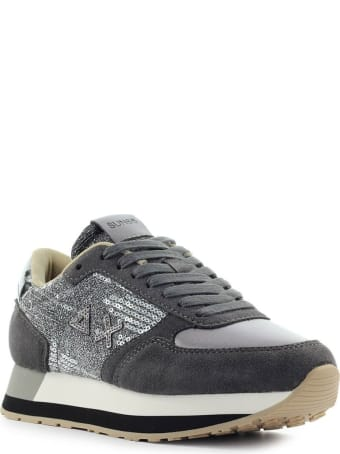 Sun 68 Sun68 Kate Velvet Paillettes Dark Grey Sneaker