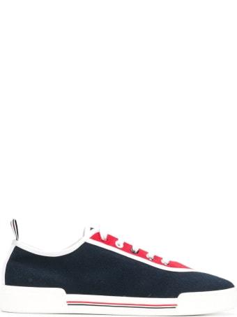 Thom Browne 4-bar Paper Label Canvas Sneakers