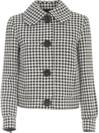 Emporio Armani Short Jacket Pied De Poule