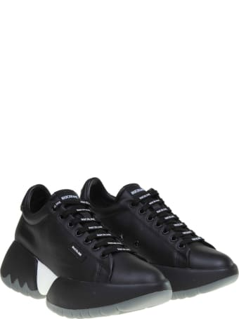 Ruco Line Rucoline Sneakers R-bubble 1454 In Black Leather