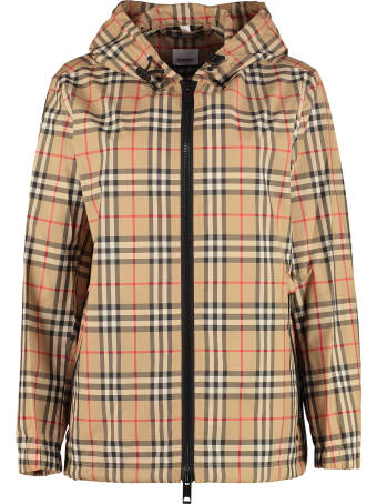 Burberry Hooded Windbreaker