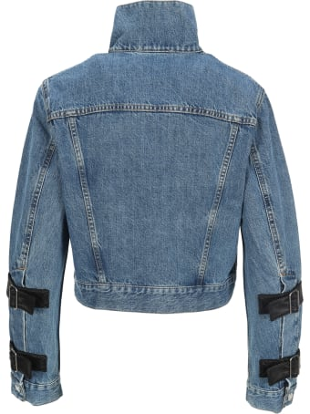 Helmut Lang Strap Trucker Denim Jacket