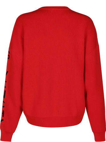Givenchy Red Wool Blend Jumper