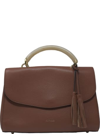 Almala Brown Leather Ambra Bag