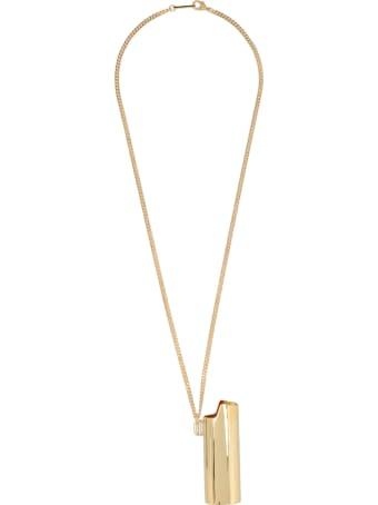 AMBUSH 'logo Lighter Case' Necklace