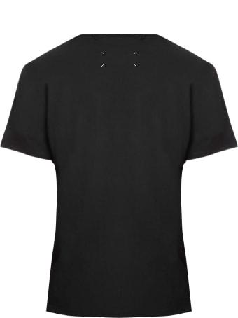 Maison Margiela Black Cotton T-shirt