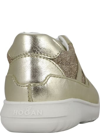 Hogan Glitter Logo Sneaker