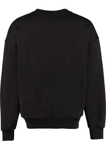 Dolce & Gabbana Logo Detail Cotton Sweatshirt