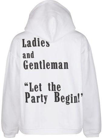 Goodboy White Cotton Sweatshirt