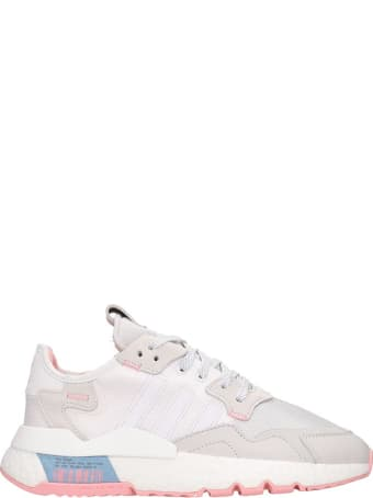 Adidas Nite Jogger W Sneakers In White Tech/synthetic