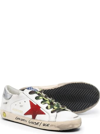 Golden Goose Sneakers With Camo Laces