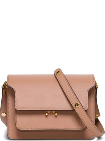 Marni Trunk Bag Leather Crossbody Bag