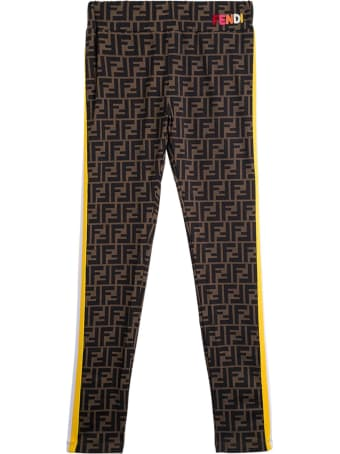Fendi Lycra Ff Leggings