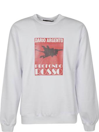 MSGM Printed Detail Sweatshirt