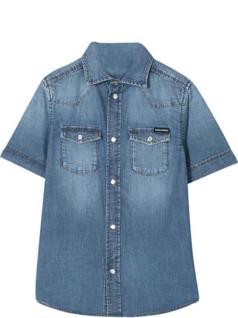 Dolce & Gabbana Dolce And Gabbana Kids Denim Shirt