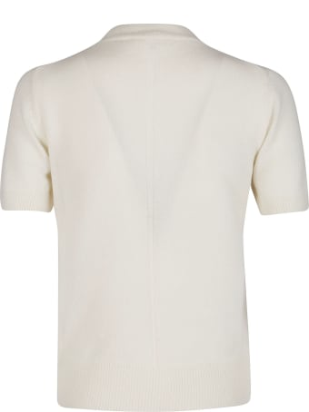 The Row Off-white Cotton T-shirt