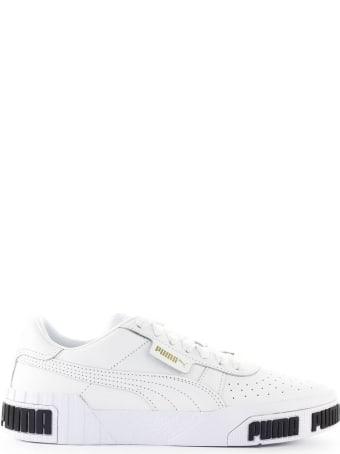 Puma Cali Bold White Gold Sneaker