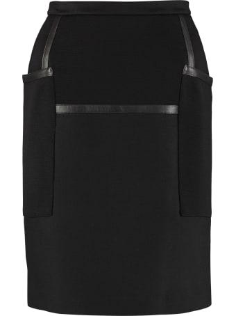 Max Mara Brando Wool Mini Skirt