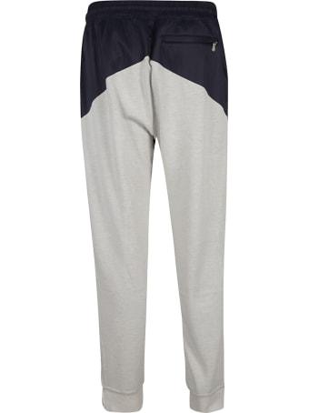 Brunello Cucinelli Color-block Ribbed Track Pants