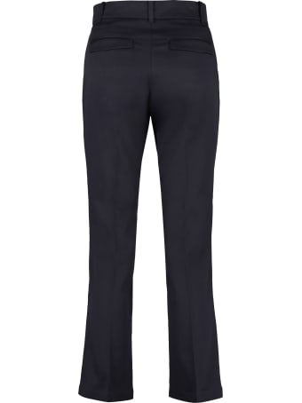 Department 5 Jet Cropped Flared Trousers