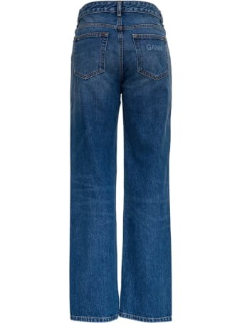 Ganni Recycled Cotton Jogger Software Isoli
