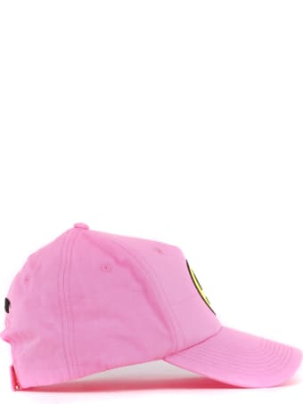 Barrow Pink Cotton Hat With Smile