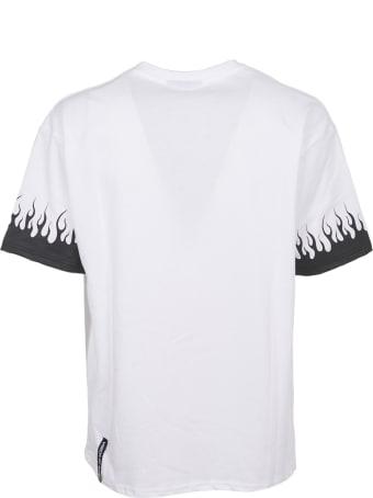 Vision of Super Black Flames T-shirt