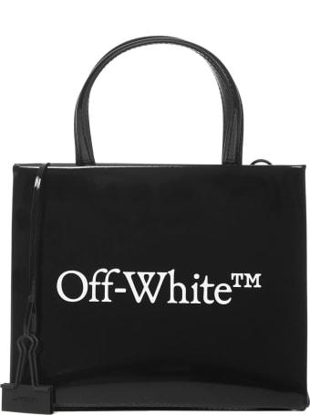 Off-White Mini Box Tote Bag