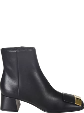 Sergio Rossi Side Zip Boots