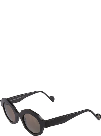 Anne & Valentin Swinton Octagon Frame Sunglasses