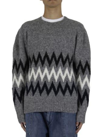 Officine Générale Seamless Sweater - Grey