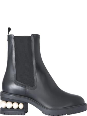 Nicholas Kirkwood Casati Chelsea Boots