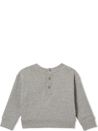 Burberry Grey Bold Check Pattern Sweatshirt
