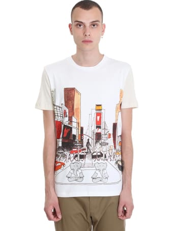 Lanvin T-shirt In White Cotton