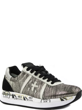 Premiata Conny Sneaker In Laminated Fabric