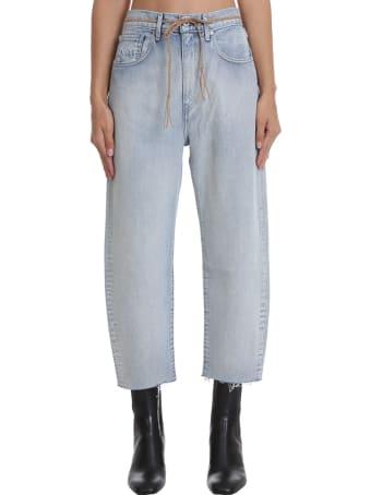 Levi's The Barrel Jeans In Cyan Denim