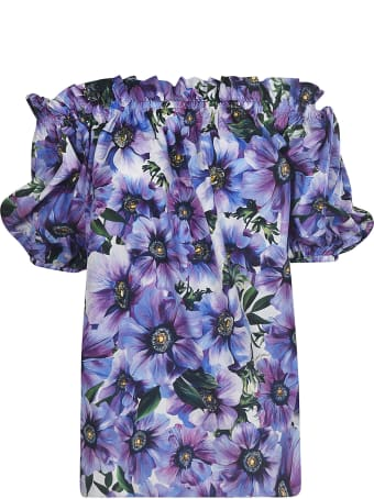 Dolce & Gabbana Floral Printed Blouse