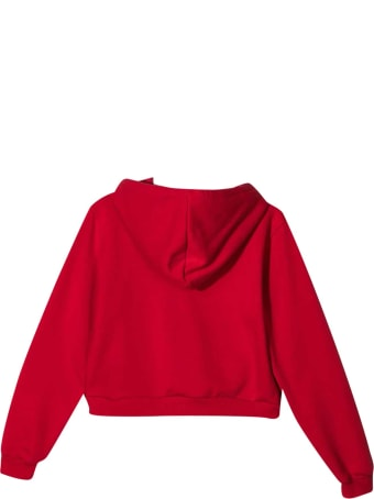 Chiara Ferragni Red Sweatshirt