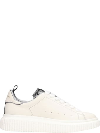 Officine Creative Krace  Sneakers In Beige Leather