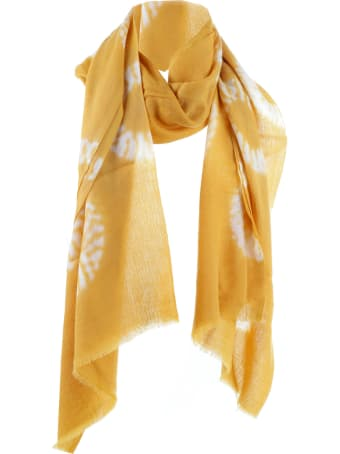 Dianora Salviati Yellow Caramello Scarf