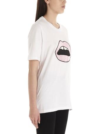 Markus Lupfer 'sequin Lara Lip' T-shirt
