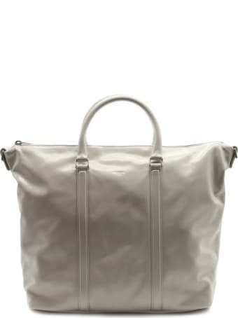 Saint Laurent Supple Bag Sac De Jour Cream In Leather