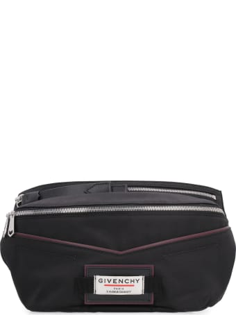 Givenchy Downtown Nylon Belt Bag With Patches