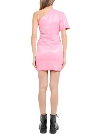 Maisie Wilen Pink Slick Dress
