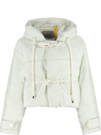 Moncler Whitepearl Short Down Jacket